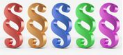 Symbolbild: bunte Paragraphen-Zeichen